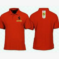 kaos kerah -tshirt pria-polo shirt-big size FERRARI SPORT XXXXXL/5XL