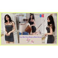 Sexy Mini Dress Bodycon Black Korean Stretch Sonyeo Shop