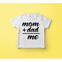 Baju Kaos Bayi Anak 6-12 bulan Unik & Lucu - Mom & Dad
