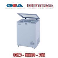 GEA Freezer SD-100F Kulkas Freezer 1 Pintu Lift Up Glass Door