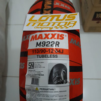 Ban Maxxis 110/90-12 untuk Scoopy New Ring 12