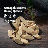 Astragalus Roots / Huang Qi Pian 黄芪片 - 50 gram