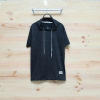 kaos hodie lengan pendek pria distro t shirt hoodie high quality
