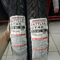 PAKETAN BAN LUAR BATTLAX BT 45 UK 100/80-18 DAN BT 46 UK 100/90-18