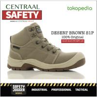 SEPATU SAFETY JOGGER DESERT BROWN S1P