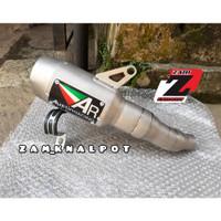 Knalpot Austin Racing Sandblast Slip On ninja250-cbr150-r25-cbr250rr