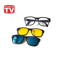 Kacamata 3in1 magnetic Ask Vision / Kacamata keren 3in1 magnet