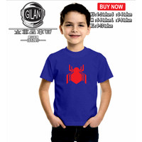 Kaos Baju Anak SPIDERMAN HOMECOMING LOGO Kaos anak superhero