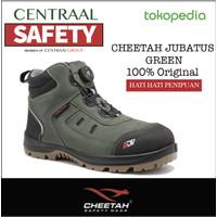 Sepatu Safety CHEETAH ADV JUBATUS FOREST GREEN 6612G