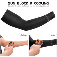 Manset tangan sepeda anti UV arm sleve outdoor rockbros XT9002