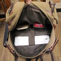 tas ransel backpack pria original kanvas punggung kerja laptop 9086