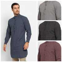 Baju Kurta Pakistan Koko Kemeja Pria Gamis Muslim Toraformen Premium