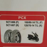 ban luar irc tubeles 120/70-14 sct007& 100/80-14 sct006 (stdr ban pcx)