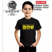 Kaos Baju Anak HARDOLIN DAHAR MODOL ULIN Kaos Distro Anak Sunda