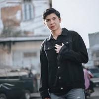 (PROMO) Jaket Jeans Levis Pria Hitam Size M,L,XL,XXL,XXXL