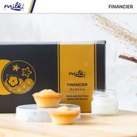 MILKI Premium Financier 8pcs