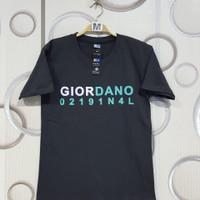 Kaos pria Giordano Original terbaru
