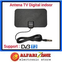 Antena TV indoor digital tempel dinding DVBT2 | Antene dalam TV - Lebar