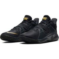 sepatu basket nike original FLY BY MID black gold new 2020