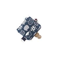Handmade Nekochan Mini Canvas Coin Purse Dompet Koin Canvas Pouch
