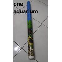 Background T60cm 1 roll wallpaper aquarium tinggi 60cm 1 roll