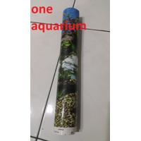 Background T30cm 1 roll wallpaper aquarium tinggi 30cm 1 roll
