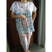 BAJU TIDUR PIGGY - BABI - Unik - Lucu - Pakaian - Sleepwear - Clothes