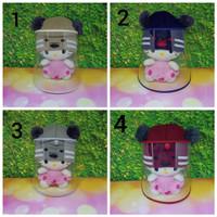 Topi Anti Corona Bayi Rajut / Topi Rajut Bayi / Topi Face Shield Bayi