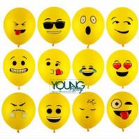 Balon lateks emoticon/Balon emoji lucu