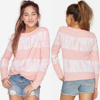 baju kaos sweater cantik adem justice original branded