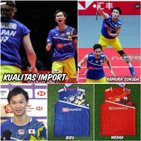 Baju badminton yonex Japan Yuta Endo terbaru Import