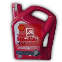 Oli Shell Helix HX 3 SAE 20W-50 Galon (4 Liter) Original