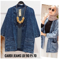 Outer Jeans Wanita All Size FIT TILL XL