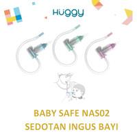 Baby Safe NAS02 Sedotan Ingus Hidung Bayi dengan Pipa Nasal Aspirator