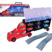 mainan top truck + 6 pc mobil cars/mainan anak