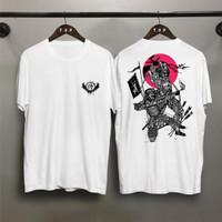 TP Kaos distro pria samurai 2 wario T-shirt pria Baju pria Atasan pria