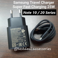 Samsung Charger Super Fast Charging 25W Note 20 Ultra / Note 10+ USB-C