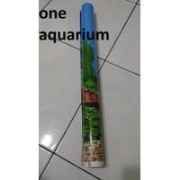 Background T50cm 1 roll wallpaper aquarium tinggi 50cm 1 roll
