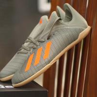 ORIGINAL Adidas Futsal Hitam Putih Hijau Sepatu Pria Wanita Anak BNIB