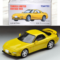Tomica Limited Vintage LV-174b Mazda RX7 TypeR Yellow
