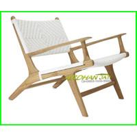 Kursi Santai Vintage Kayu Jati | Lounge Teak Wood Chair