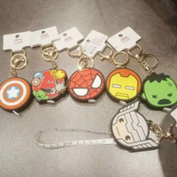 Marvel X Miniso Bag Charm With Meansure Tape (Meteran Baju)