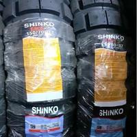 Ban Shinko E805 130/80 - 17 & 150/70 - 17 Big Block