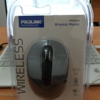 Mouse Wireless Prolink PMW6008 with DPI Selection Termasuk Battery