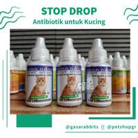OBAT STOP DROP KUCING - ANTIBIOTIK KUCING - OBAT STOPDROP KUCING