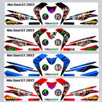 Sticker Striping Variasi MIO SOUL GT 115 2012-2014 *3