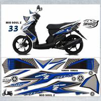 Striping Variasi Thailand Thailook Mio Soul Karbu (MIO SOUL Z & MX) *1
