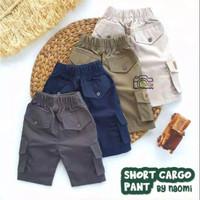Celana pendek anak short cargo pant by naomi