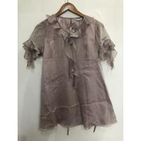 Atasan pesta wanita/blouse wanita,M