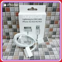 Kabel Data iPhone 4/4S/4G/4C/4GS/iPad 1,2,3 iPod Apple ORIGINAL 100%